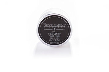 The Gentlemens 'Refinery Unscented' Shave Cream TSA Travel Size