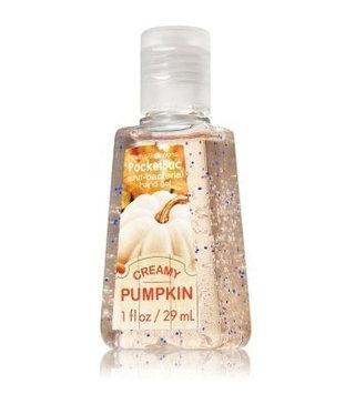 Bath & Body Works® PocketBac Creamy Pumpkin Anti-Bacterial Hand Gel