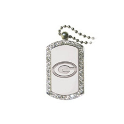 Green Bay Packers dog tag necklace