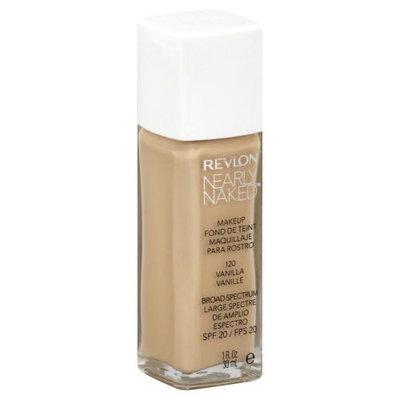 Revlon Nearly Naked Makeup - Vanilla - 1 oz