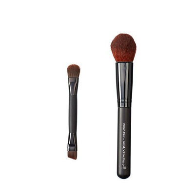 Makeover Vegan Love Duo Mini Eye and Pointed Face Brush