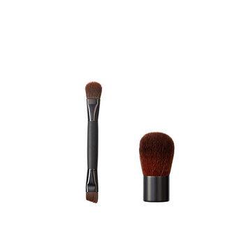 Makeover Vegan Love Duo Mini Eye and Buki Brush