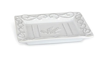 Pre De Provence Terracotta White-Washed Provence Inspired Soap Dish