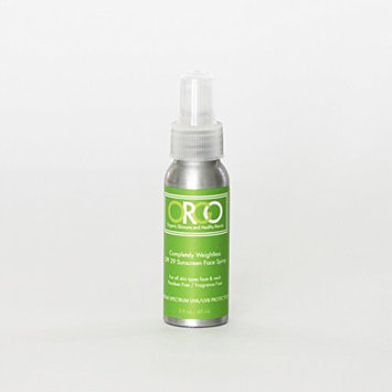 ORGO Completely Weightless Sunscreen Spray for Face and Neck SPF 29