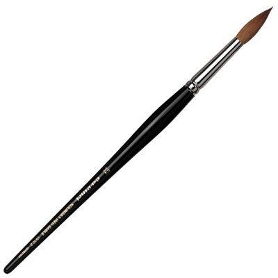 Da Vinci Series 15102 Round Nail Brush Kolinsky Red Sable Hair and Acetone Resistant Handles