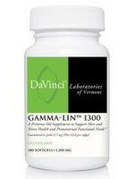 DaVinci Labs ASDN0088 Gammalin 1300 Mg 180 Capsules