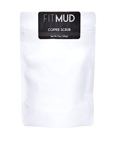 FitMud Coconut Coffee Scrub for Cellulite
