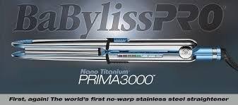 BaBylissPRO Nano Titanium Prima3000 Ionic Straightener
