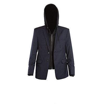 BAUBAX TRAVEL JACKET - BLAZER - MALE - NAVY - XS