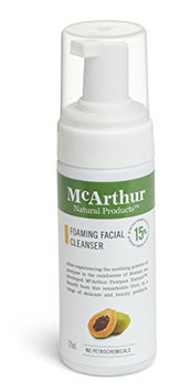 McArthur Natural Products Foaming Facial Cleanser