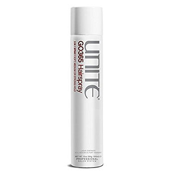 United Colors of Benetton GO365 Hairspray 3-in-1 Soft with Medium or Strong Hold