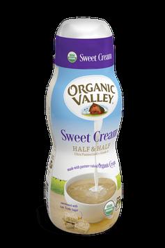 Organic Valley® Sweet Cream Half & Half, Pint