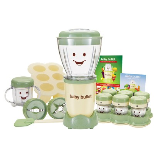 Baby Bullet by Magic Bullet Complete Baby Food Prep System