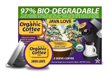 Organic Coffee Co. The Organic Coffee Co Java Love - 12 K-Cups