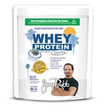 Jay Robb Enterprises - Whey Protein Vanilla, 80oz Bag