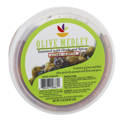 Ahold Olive Medley in Brine Seasoned with Herbs and Spices