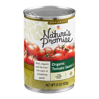 Nature's Promise Organics Tomato Sauce Organic