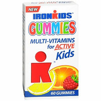Iron Kids Multi-Vitamins for Active Kids Gummies