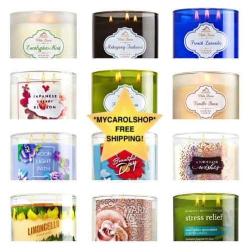 Home Fragrance 3-Wick Candle