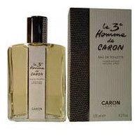 The Third Man Le 3eme Homme De Caron By Caron For Men. Eau De Toilette Spray 4.2-Ounce Bottle