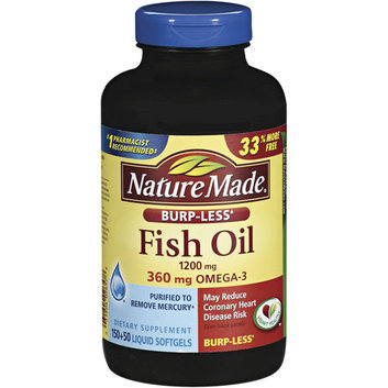 Nature Made 1200 Mg Fish Oil Liquid Softgels