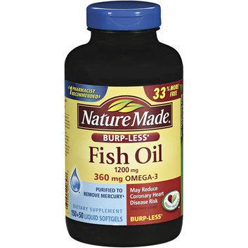 Nature Made 1200 Mg Fish Oil Liquid Softgels