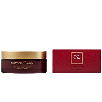 Cartier Must De Women's Satin Body Cream