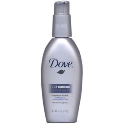 Dove Frizz Control Therapy Taming Cream, 4 Ounce (Pack of 3)