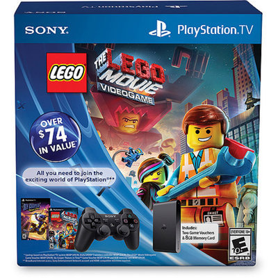 Sony PlayStation TV Limited Edition Bundle with Lego Movie and Sly Cooper Thieves in Time - Wal-Mart Exclusive