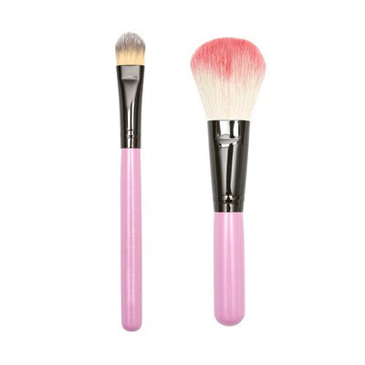 ON&OFF PINKLOVE BRUSH COLLECTION Detailing and Large Shader Brush