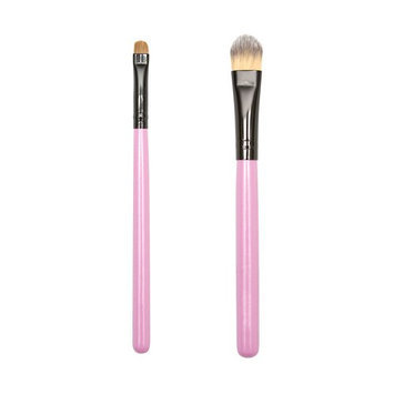 ON&OFF PINKLOVE BRUSH COLLECTION Big Shader and Foundation Brush