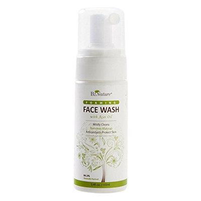 B2Organic B2Nature Foaming Face Wash with Acai