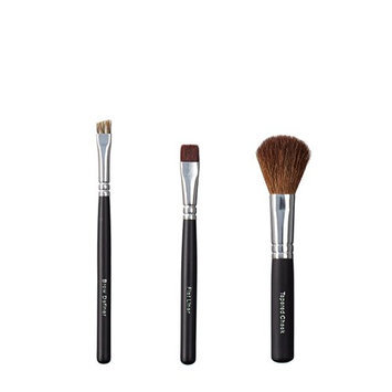 ON&OFF Trio Brow Definer/Flat Liner and Tapered Cheek Brush