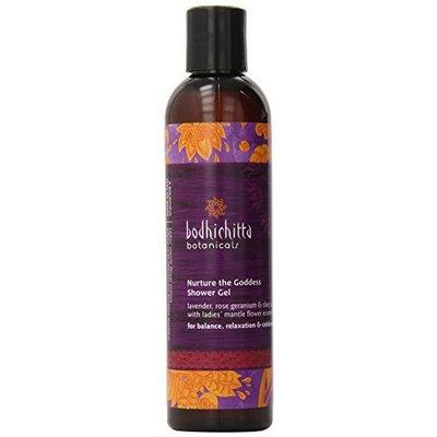 Bodhichitta Botanicals Nurture The Goddess Shower Gel, 8 Ounce