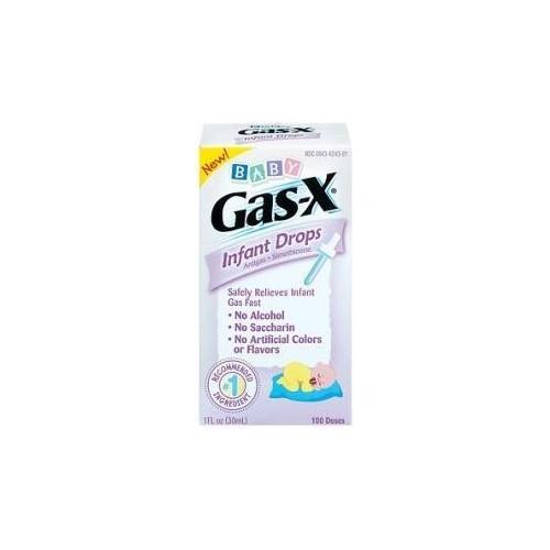 Gas X Infant Anti Gas Drops 1oz Gas-X Infant Anti-Gas Drops 1oz