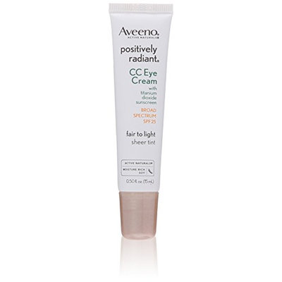 Aveeno Positively Radiant CC Eye Cream SPF 25