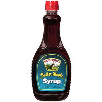 Bob White Butter Syrup 24oz