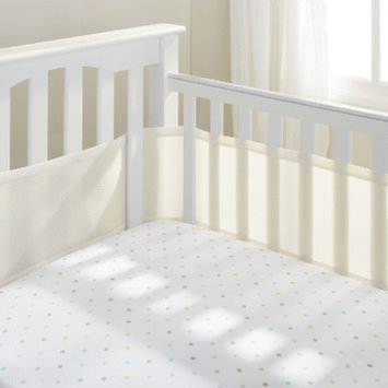 Breathable Mesh Crib Liner by BreathableBaby - Ecru