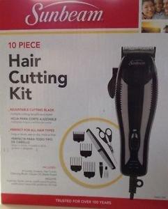 Sunbeam 10 Piece Hair Cutting Kit