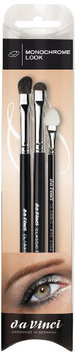 Da Vinci Series 4802 Classic Monochrome Look 3 Brush Set with Series 274/4474/3704
