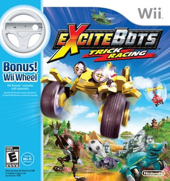 Excitebots: Trick Racing with wheel (Wii)