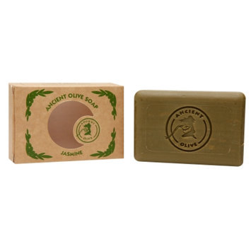 Ancient Olive Natural Olive Oil & Laurel Oil Molded Bar Soap, Jasmine, 3.53 oz