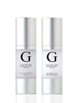 Gold Serums ACDE and Collagen Kit