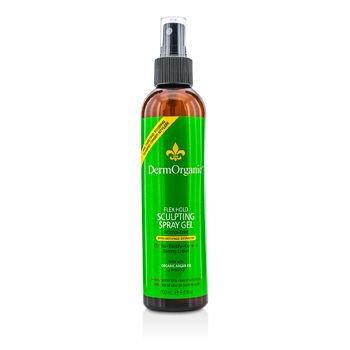Dermorganic Flex Hold Sculpting Spray with Argan Oil Hair Spray for Unisex