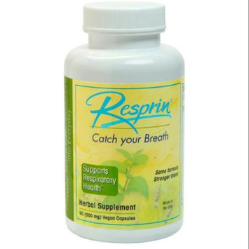 NU Century Herbs - Resprin Natural Breathing Enhancement 500 mg. - 60 Capsules
