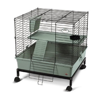 Super Pet My First Home 2-Level with Stand, Sage Green