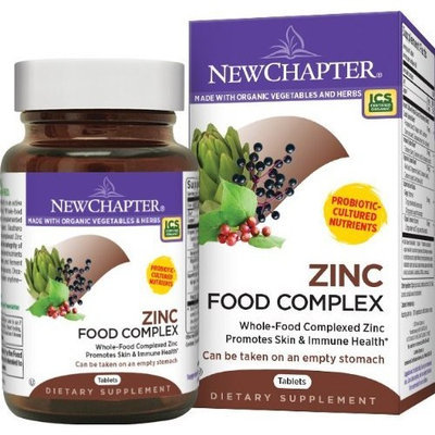 New Chapter Chapter Zinc Food Complex, 60 Tablets