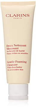 Clarins Gentle Foaming Cleanser with Shea Butter for Unisex