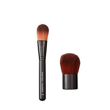 Makeover Vegan Love Foundation Brush and Buki Brush