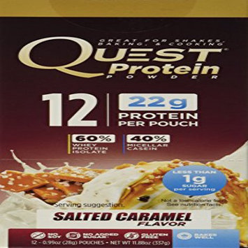 Quest Nutrition Quest Protein Packets Salted Caramel